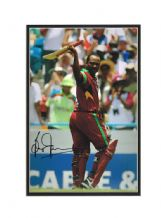 Brian Lara Autograph Signed Photo